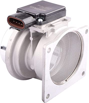 OCPTY Mass Air Flow Sensor Meter MAF Replacement Fit for 1990-1995 Ford Aerostar 1990-1994 Ford Ranger 1991-1994 Ford Explorer 1991-1994 Mazda Navajo 1991-1992 Lincoln Town Car F07F12B579AA