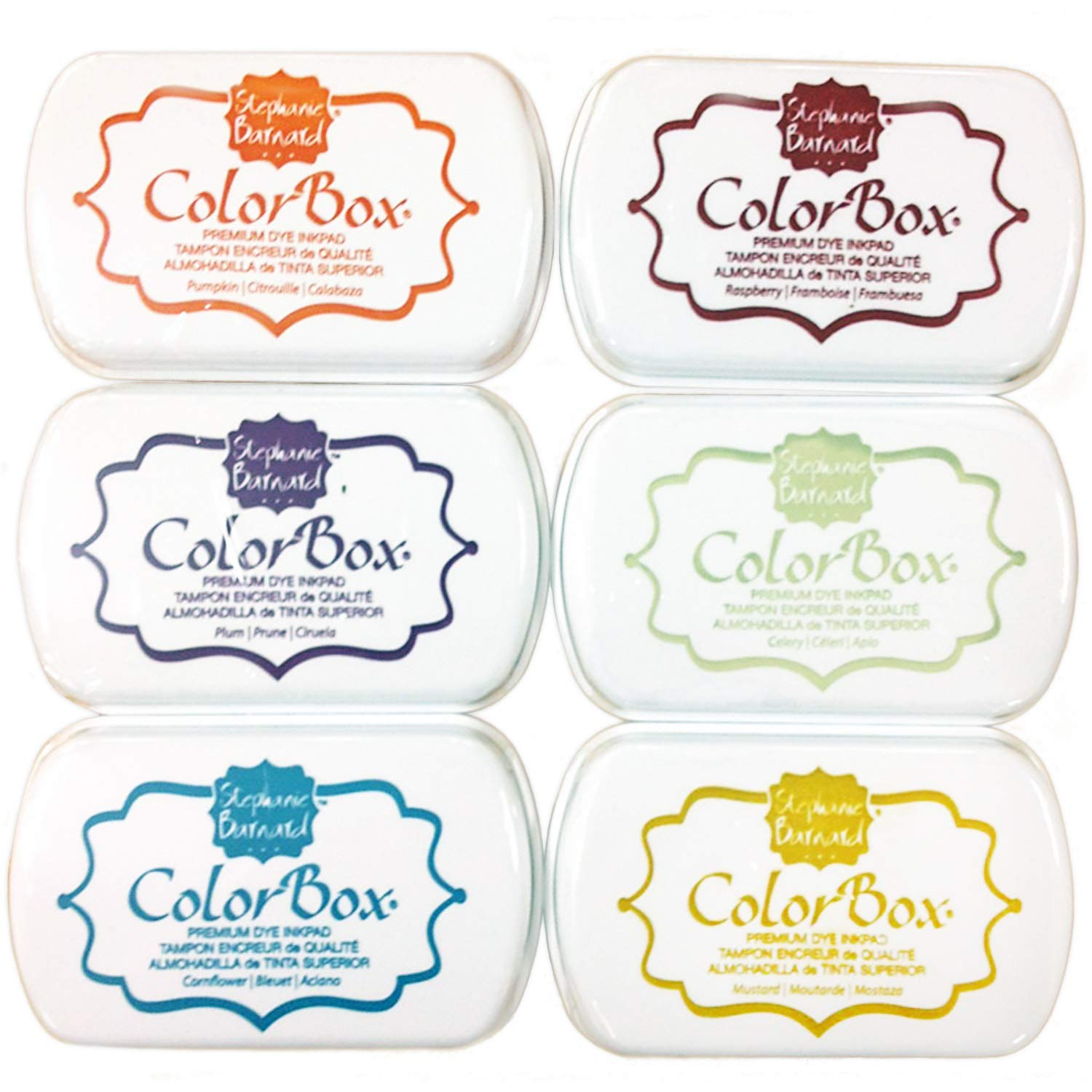 ColorBox Ink Pad Multi Pack by The Stamps of Life - Ink Pads Set 3