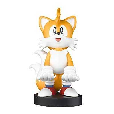 Exquisite Gaming Tails Sonic - Cable Guy The Hedgehog [Licencia Oficial] (PS 4): Videojuegos