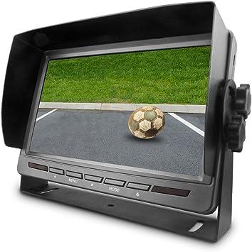 12-24V 5 Zoll Digital TFT LCD Farbe Auto Rückfahrkamera Monitor Display