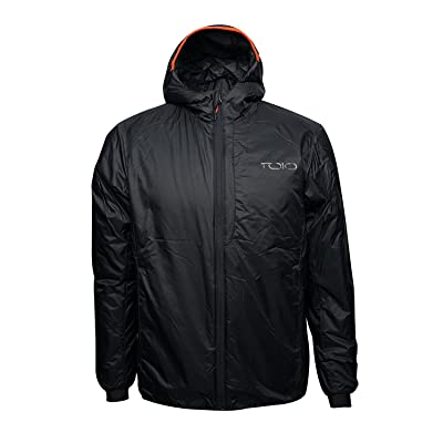 TOIO - Boom Hooded Jacket Water repellent, superlight jacket with primaloft padding and adjustable hood Front chest pocket and lower comfortable pockets
