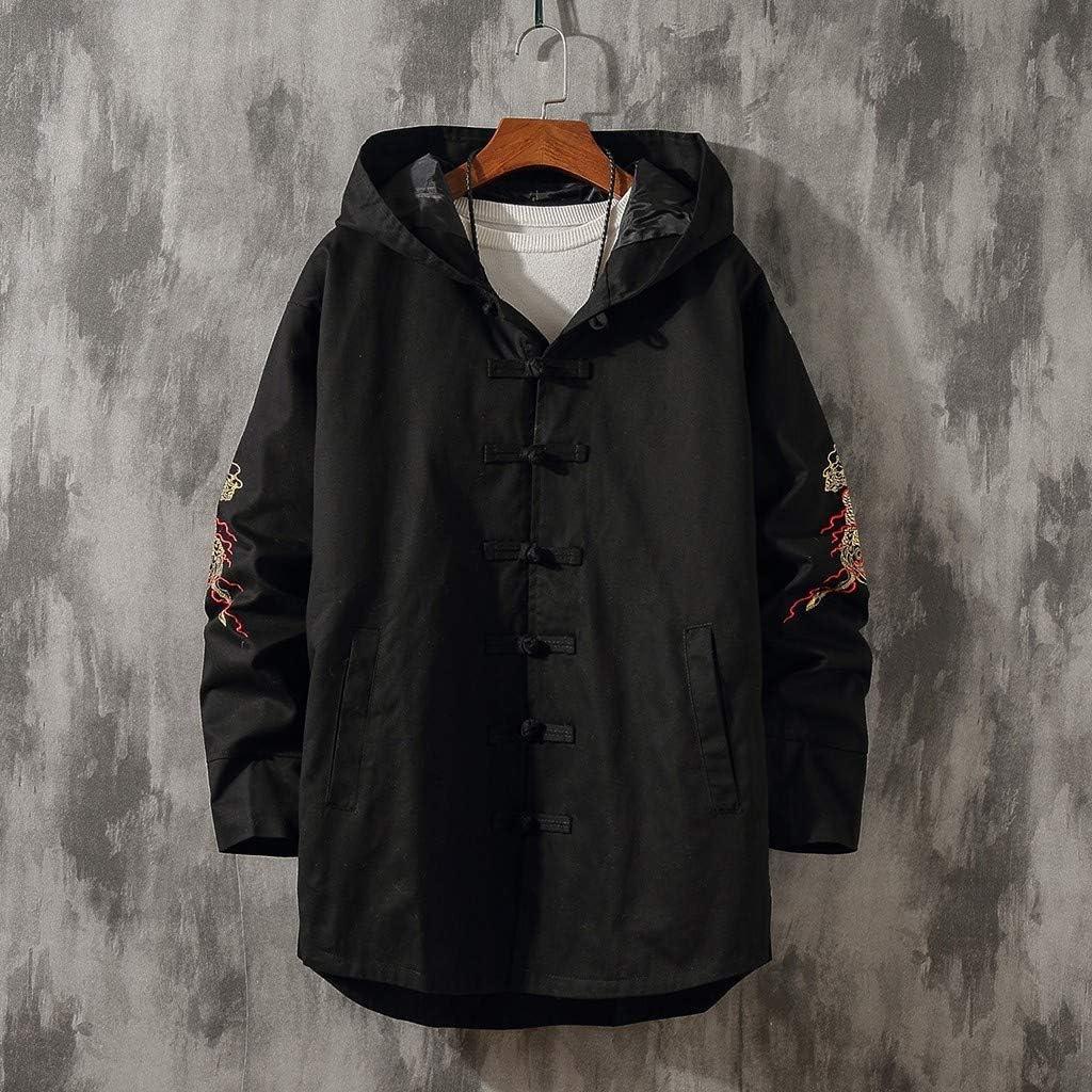 Mens Cape Coat Beautyfine Fashion Celtic Wool Vintage Coat Gothic Game of Thrones Jacket