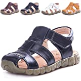 Amazon Price History for:LONSOEN Leather Outdoor Sport Sandals,Fisherman Sandals for Boys(Toddler/Little Kids)