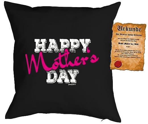 Cojín: Mama Mom Tuerca Día Happy Madre S Day como Präsent ...