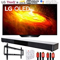 "LG OLED65BXPUA 65"" BX 4K OLED TV AI ThinQ (2020) with Deco Gear Soundbar Bundle"