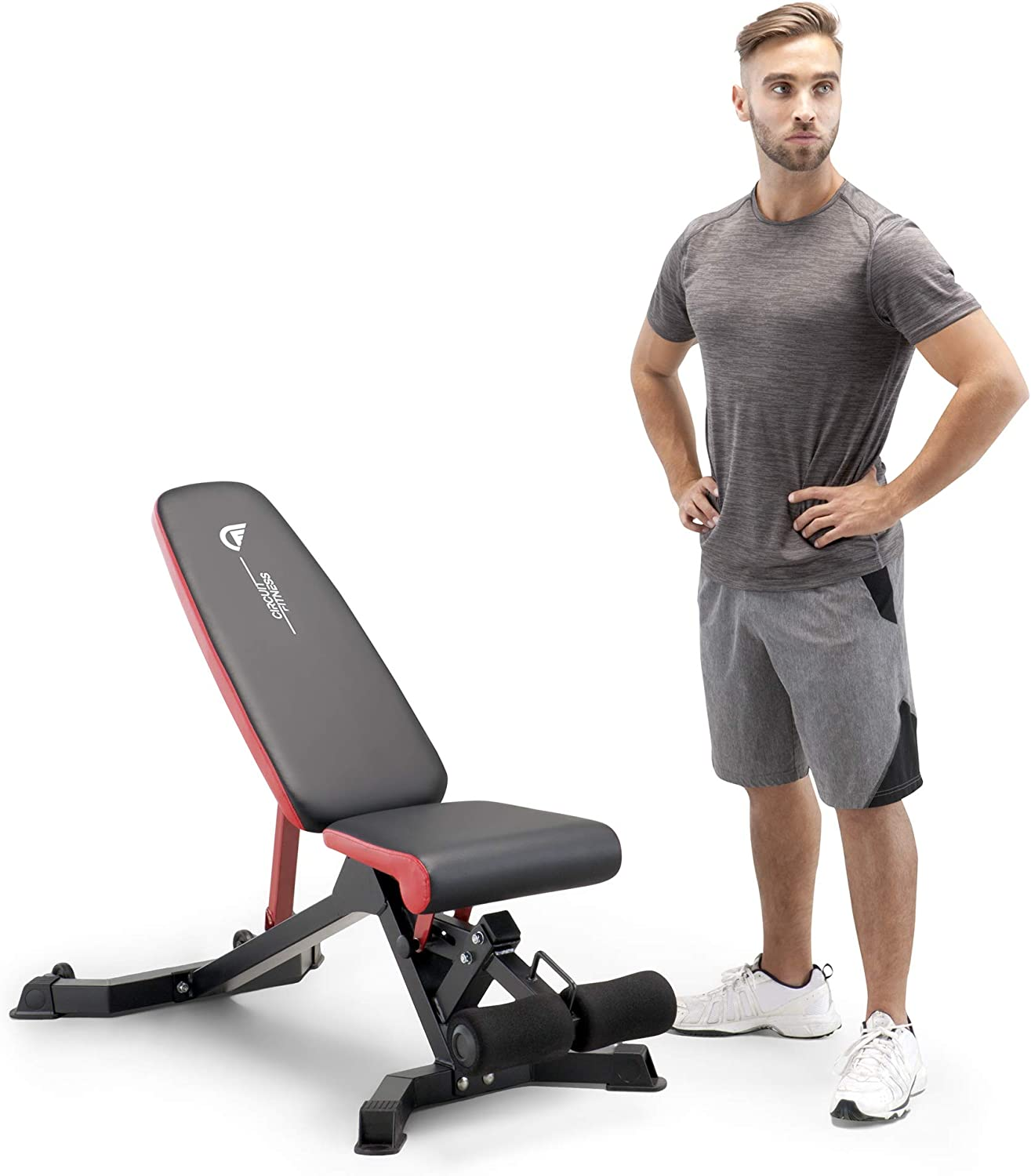Details about  /Gym At Home Exercise Equipment BENCH Arm Chest Abs Workout For Men Women Fitness