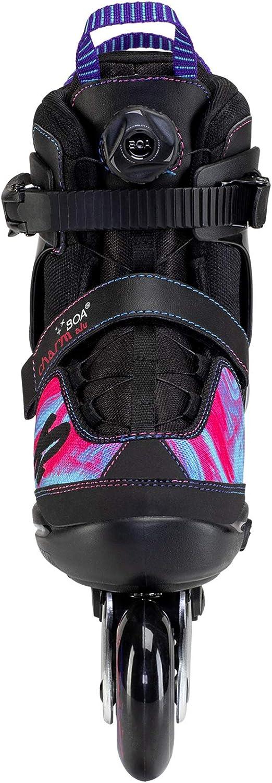 1-5 Purple/_Swirl K2 Skate Charm BOA ALU