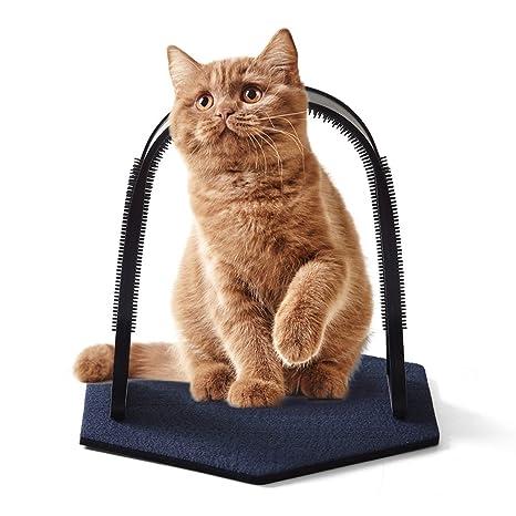 FXY Arco de masaje para gatos y gatos para mascotas, peluca de ...