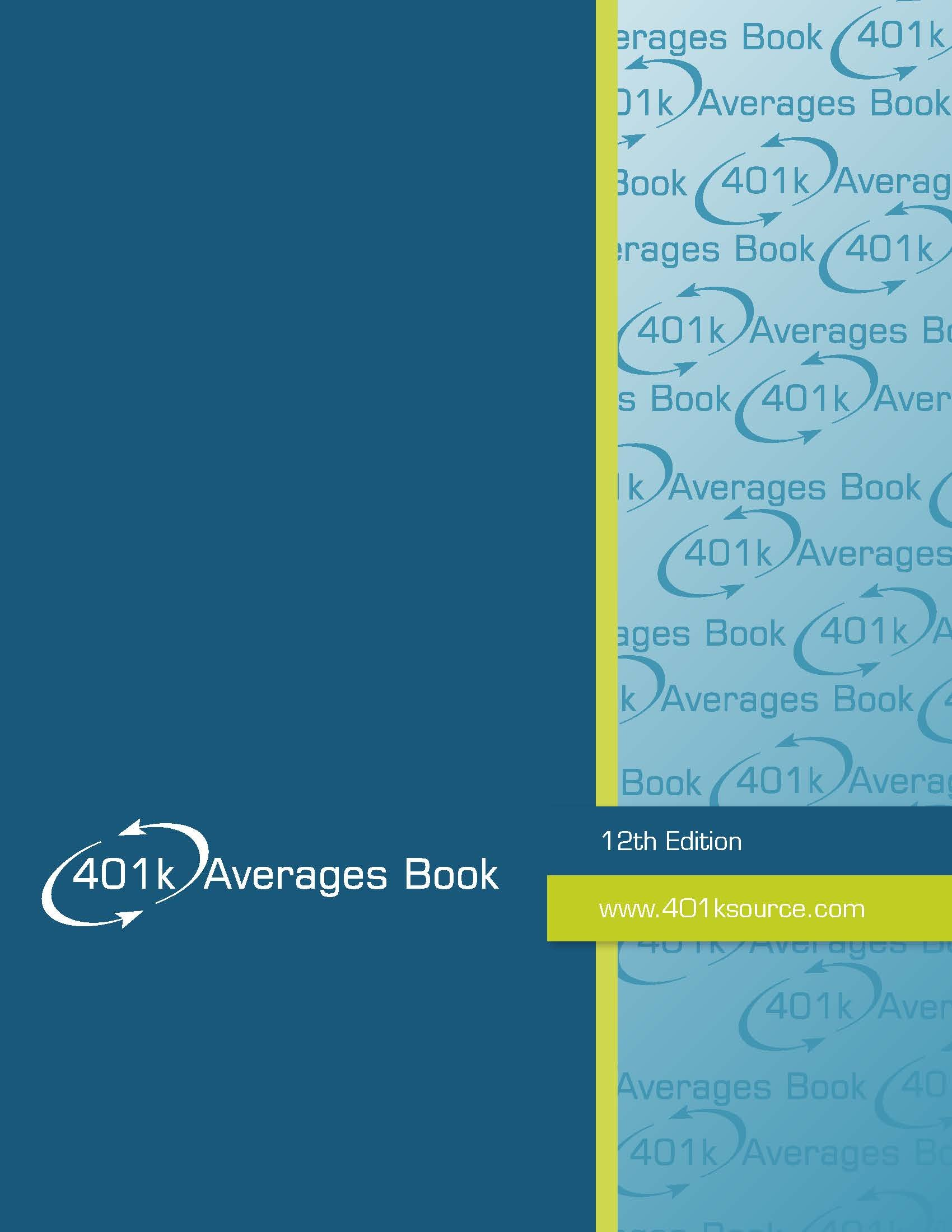 Download 401k Averages Book 12th Edition ebook