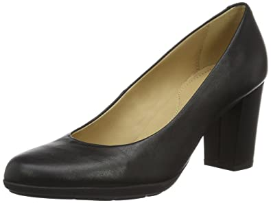 Geox D ANNYA A, Women's Pumps, Black (Blackc9999), 4.5 UK