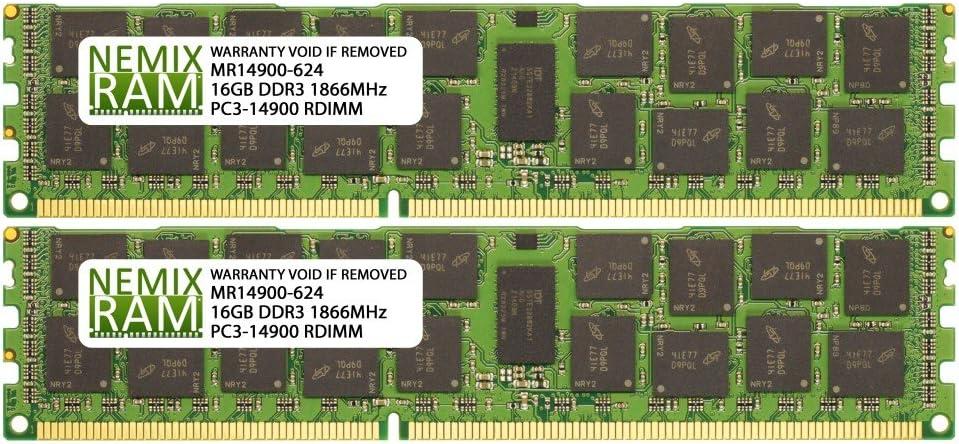 32GB 2X16GB NEMIX RAM Memory for Apple Mac Pro 2013