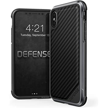 iphone x iphone xs case x doria defense lux series military grade drop tested anodized aluminum tpu and polycarbonate protective case for apple