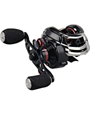 KastKing Royale Legend/Whitemax Low Profile Baitcasting Fishing Reel - 11 +1 Shielded Bearings, 17.5 Lb Carbon Fiber Drag