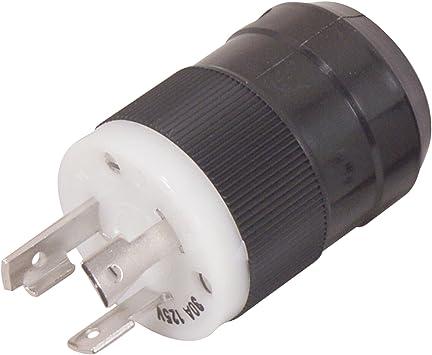 Amazon Com Marinco Plug Male 3 Prong 12v 110ac Locking Automotive