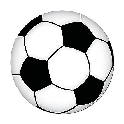 10 cm Fan Pegatinas Balones de Fútbol Fútbol decorativo para ...