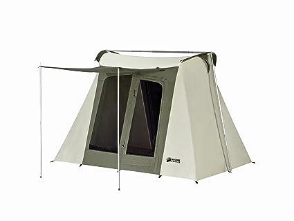 Kodiak Canvas Flex-Bow 4-Person Canvas Tent Deluxe  sc 1 st  Amazon.com & Amazon.com : Kodiak Canvas Flex-Bow 4-Person Canvas Tent Deluxe ...