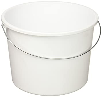 sterilite 5qt wht handy pail
