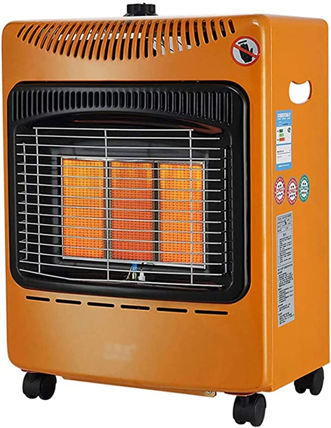 GXFC 4200W Estufa de Gas GLP, con Temporizador, Ruedas ...