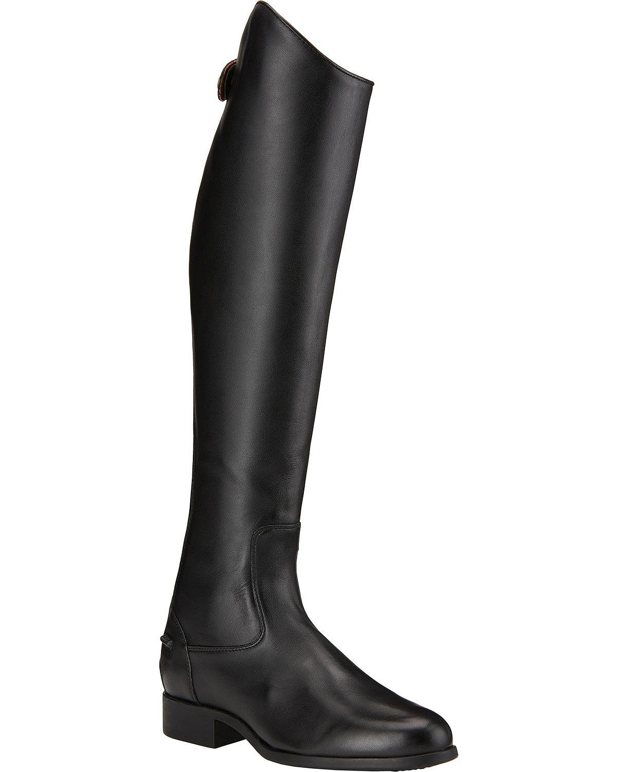 Ariat Damen Reitstiefel Heritage Contour Dress Zip schwarz