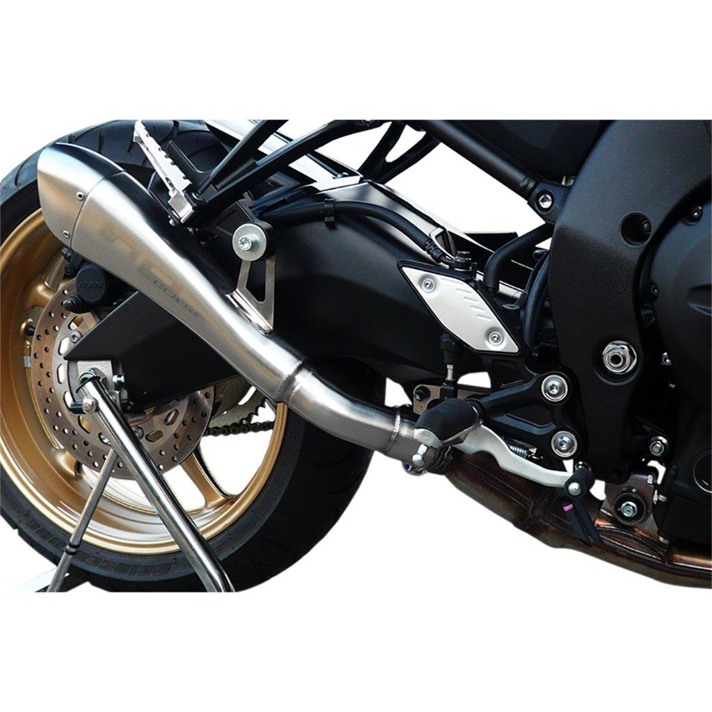 HP Corse d/échappement Hydro forme acier inoxydable de culotte on satin Yamaha FZ8/10/