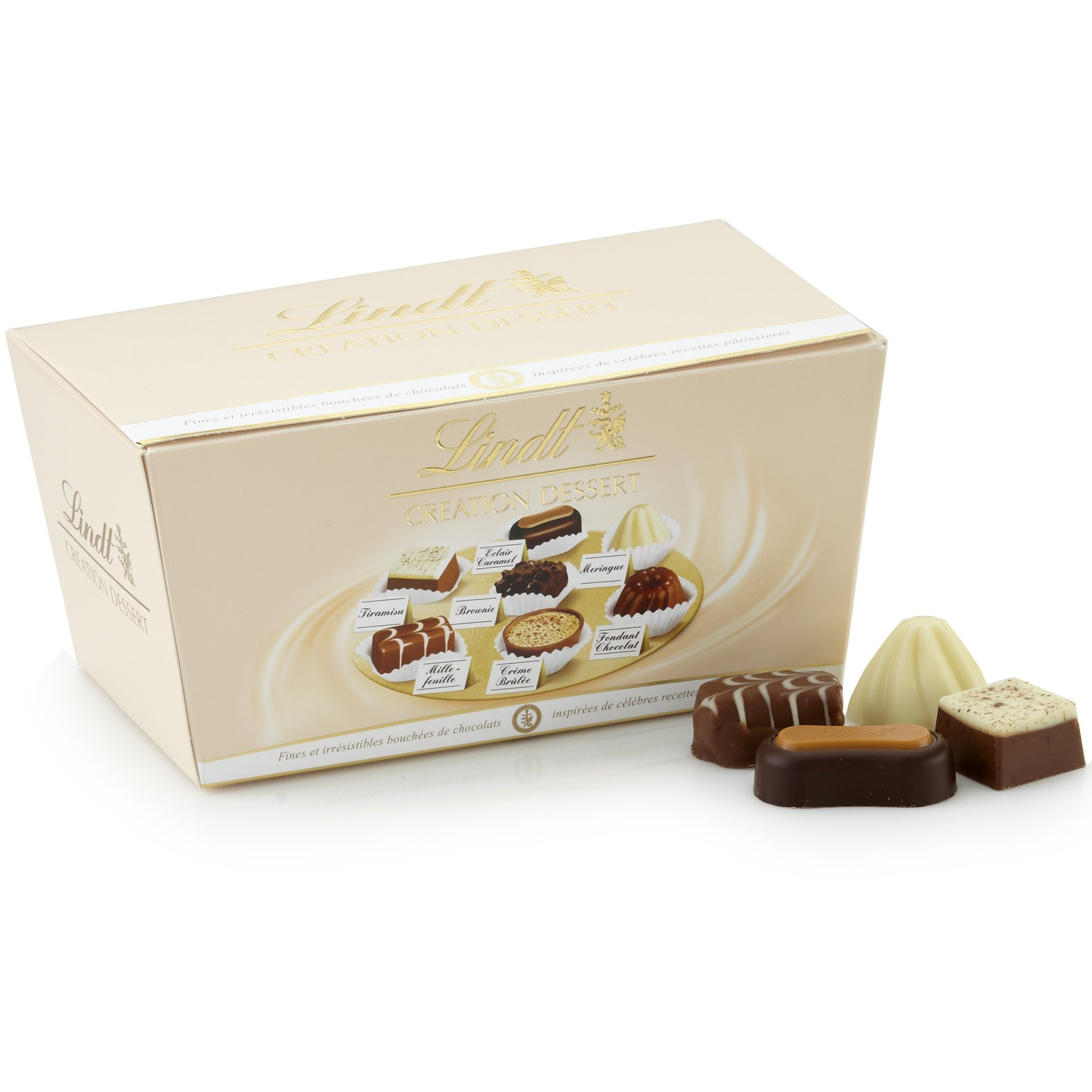 Lindt Creation Dessert, Assorted Chocolate Gift Ballotin, 21 Pieces by Lindt