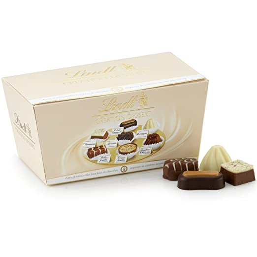 Lindt Creation Dessert, Assorted Chocolate Gift Ballotin, 21 Pieces