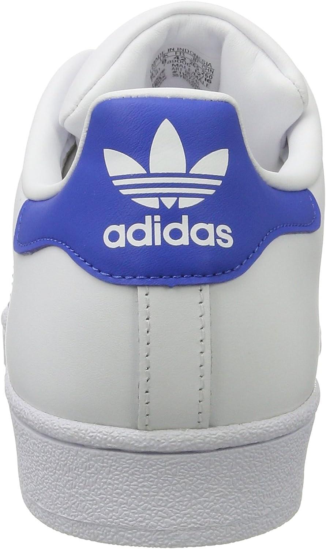 adidas Herren Superstar Turnschuhe Blanc