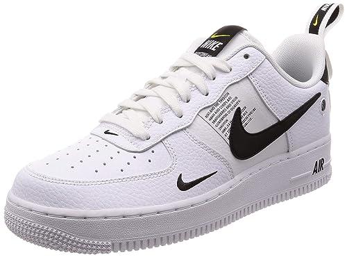 the latest 02db8 0c384 Nike Air Force 1  07 Lv8 Utility, Zapatillas de Gimnasia para Hombre, Blanco