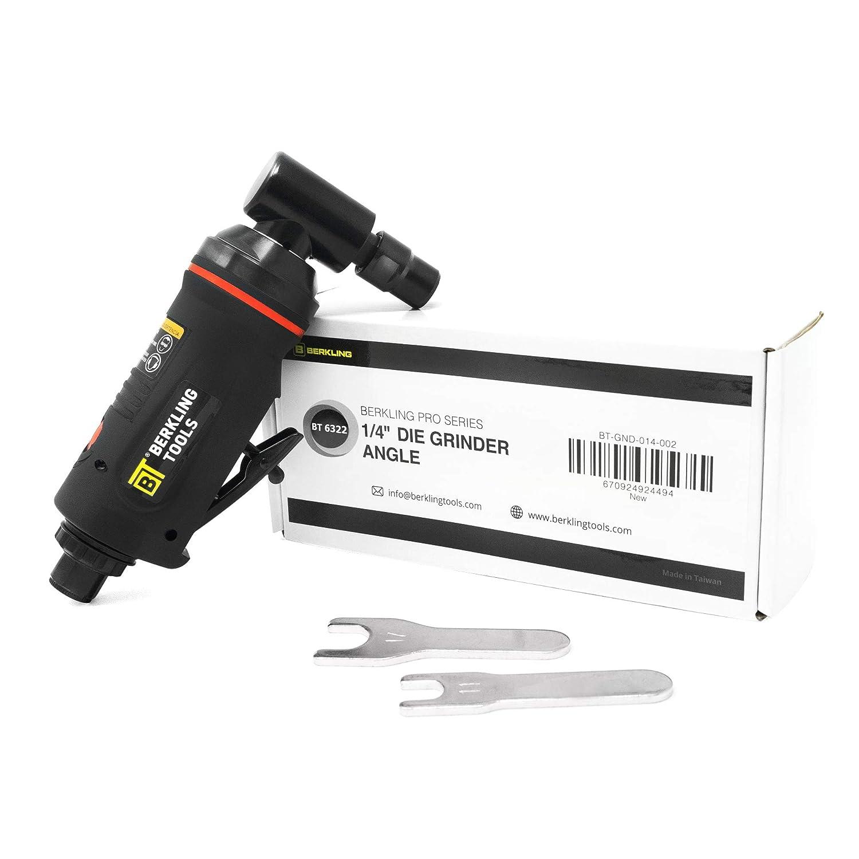 "Berkling Tools BT 6321 1//4/"" Straight Air Die Grinder Variable Speed Professional Grade Heavy Duty Straight"
