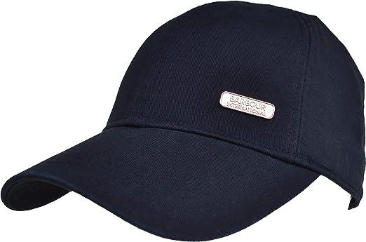 Barbour International Delaware - Gorra deportiva, color negro ...