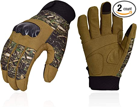 Army Camo Military Combat Hunting Shooting Tactical Full Finger Gloves