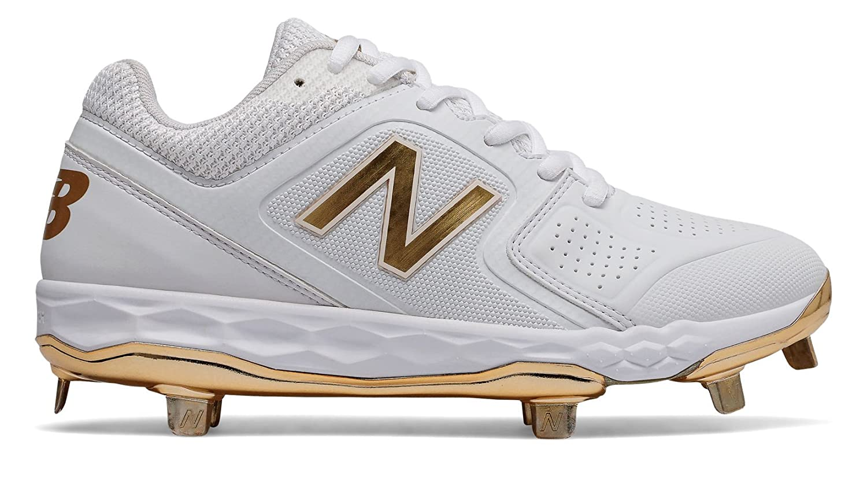 New Balance Women's Velo V1 Metal Softball Shoe B075R7J4BJ 7 D US|White