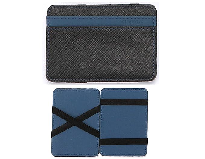 d5046a6d9 CUIKCA Cartera Magic Wallet para Hombre de excelente Calidad, Billetera  Delgada con Tarjetero, Accesorio