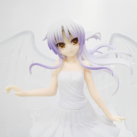 Amazon.com: Tachibana Kanade Transparent Wings Angel Beats Japanese Anime Girl Action Toy Figures Pvc Model Collection For Christmas Gift: Toys & Games