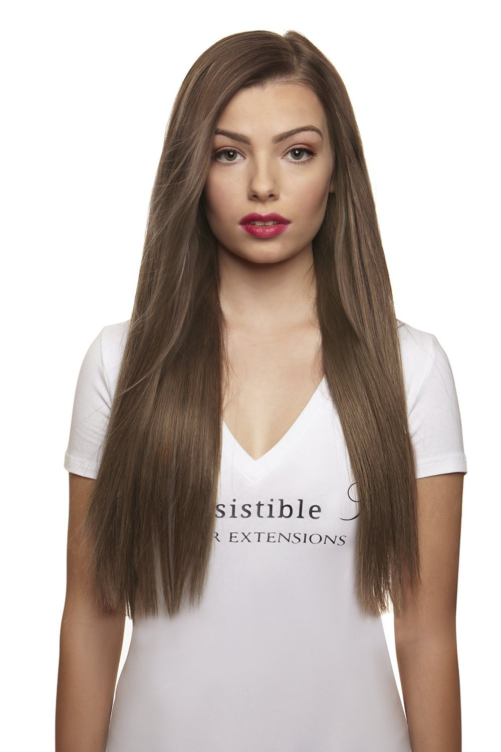 Amazon irresistible me clip in hair extensions light brown irresistible me clip in hair extensions ash blonde color 10 100 pmusecretfo Image collections
