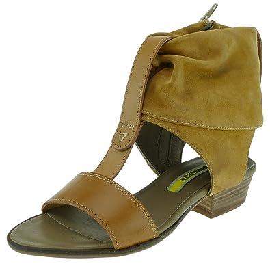 a5a5c29bf5f682 MANAS Design Sandalette Wildleder Senf