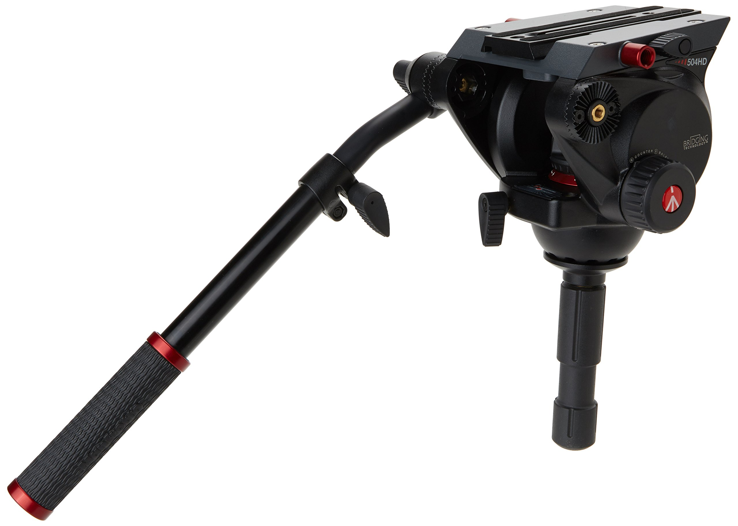 Manfrotto 504HD Video Head (Black) by Manfrotto (Image #2)