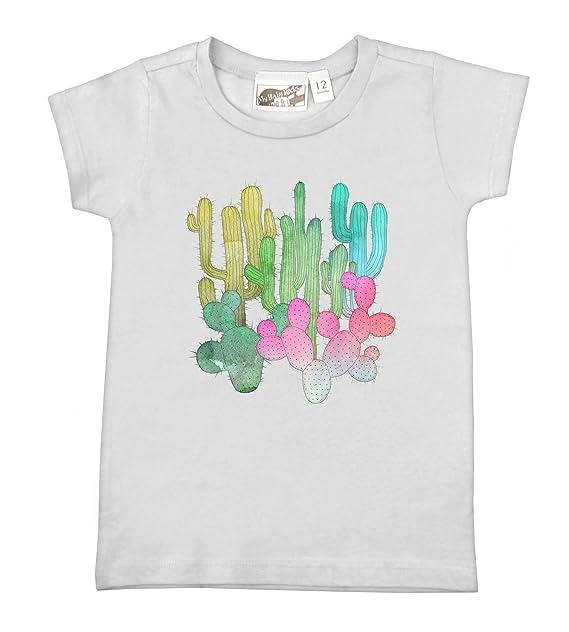 Amazon.com: My Baby Rocas de cactus jardín playera blanca ...