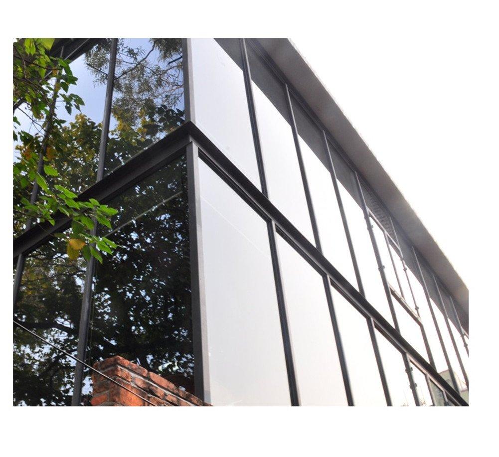Yzakka Light Filtering Window Film Anti UV No Glue Sun Control Heat Control Residential Window Films for Glass Self Adhesive for Home Bedroom Bathroom Kitchen Office Dark, 27.6-Inch by 16.4-Feet by Yzakka (Image #5)