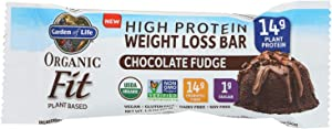 Garden Of Life - Fit High Protein Bar Chocolate Fudge - Case of 12 - 1.9 OZ