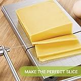 zanmini Cheese Slicer, Stainless Steel Cheese