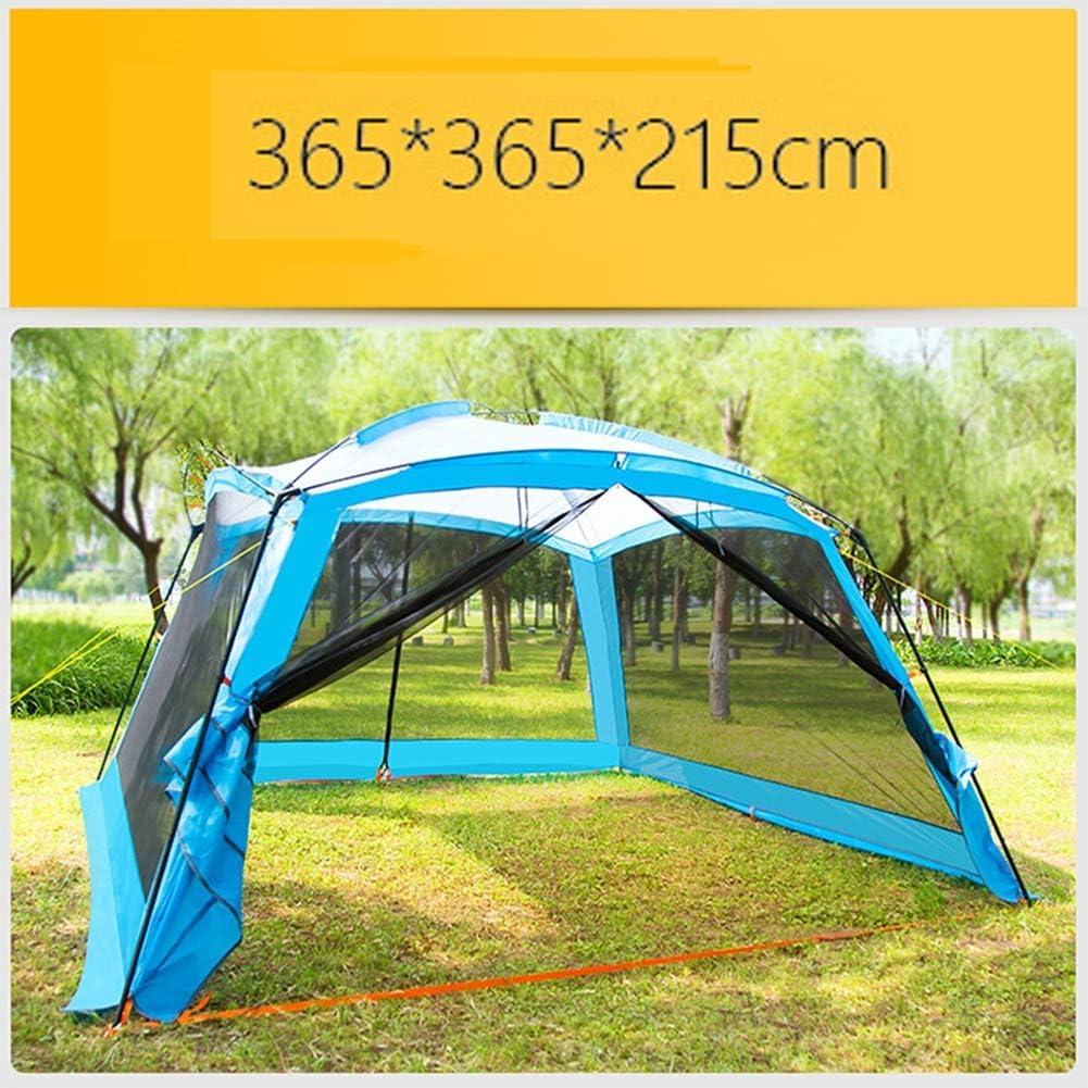 HHMGYH Pérgola al Aire Libre Camping 8-10 Persona Barbacoa Sun ...