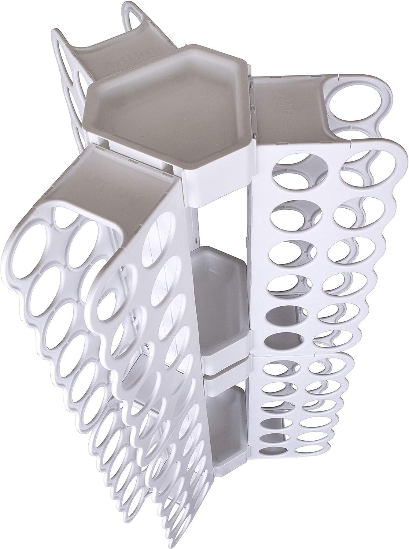 ArtBin 6864XL Storage Tower Sheet Organizer for up to 36 Vinyl Rolls White