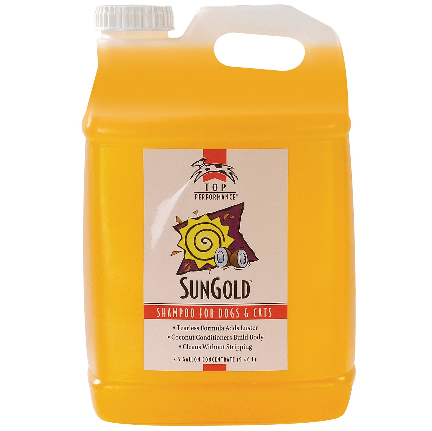 Top Performance SunGold Puppies and Kittens Shampoo, 1-Gallon TP509 91