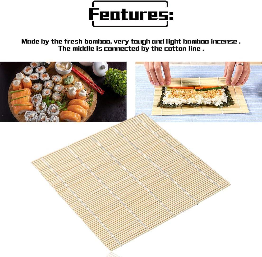 SKYYKS Sushi Rolling Roller Bamboo DIY Sushi Mat Onigiri Rullo di riso Hand Maker Sushi Tools Cucina Giapponese Sushi Maker Tool