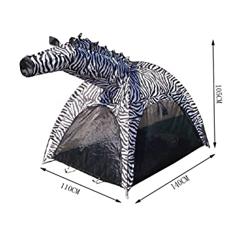 Cute Zebra Kids Play Tents Indoor/Outdoor Play Tent (Under 6 Years Old)  sc 1 st  Amazon.com : play tent for 6 year old - memphite.com