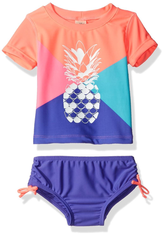 OshKosh BGosh Osh Kosh Baby//Little Girls Short Sleeve Star Print Rash Guard Set