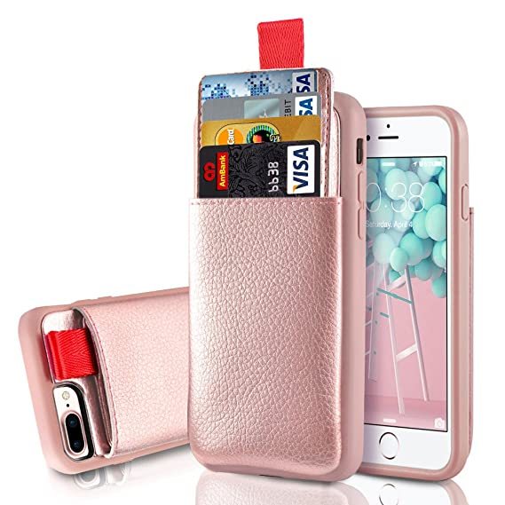 Giveaway iphone 8 plus case wallet leather