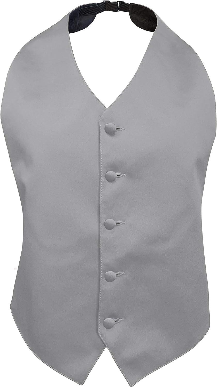 Tuxedo Park Satin Backless Vest
