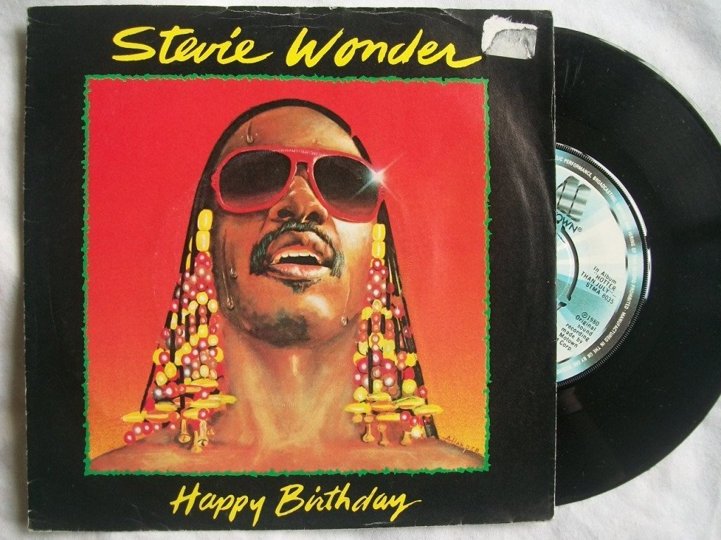 Stevie Wonder Happy Birthday.Stevie Wonder Happy Birthday 7 45 Amazon Co Uk Music
